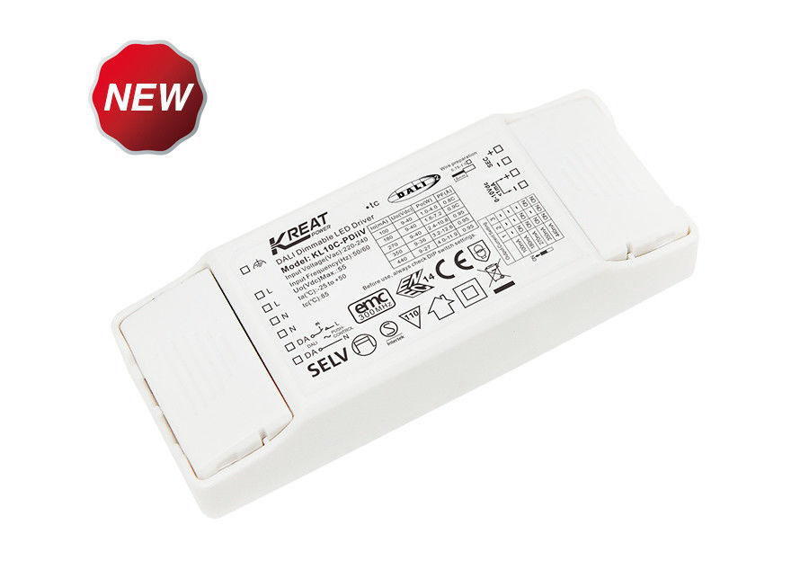 10W Flicker Free DALI2.0 Dimmable LED Driver KL10C-PDiiV